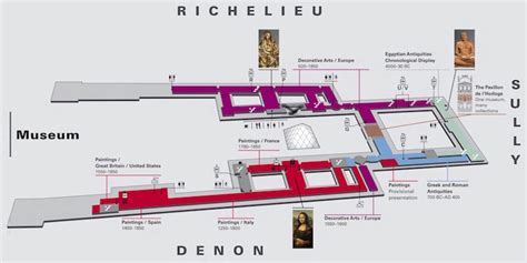 the louvre floor plan guide to the louvre museum paris insiders guide