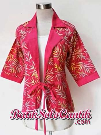 baju blazer 2014 blazer baju batik modern baju kerja batik