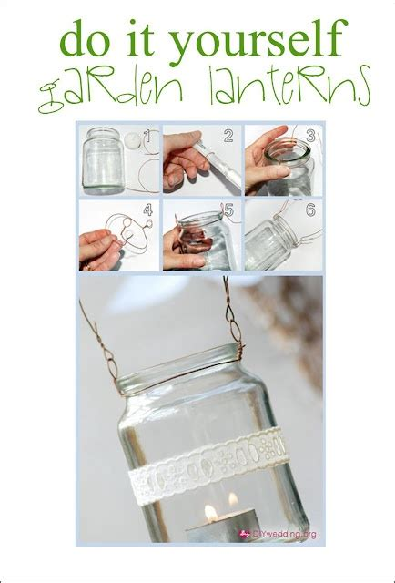 do it yourself lanterns for a outside party