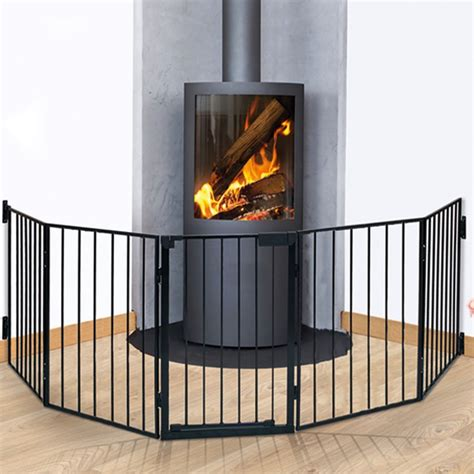 Barriere Securite Cheminee by Barri 232 Re De S 233 Curit 233 Enfant Pare Feu De Chemin 233 E 5 Pans