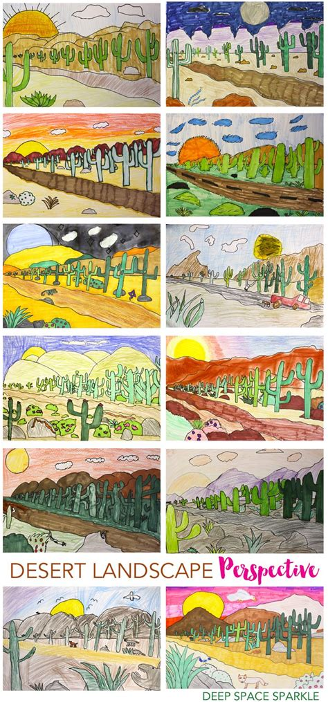 Landscape Lesson 57 Best Images About Perspective Projects For On