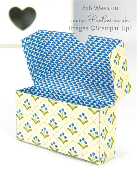 pattern for fold up box pootles 6x6 week 7 fold over box tutorial cajas