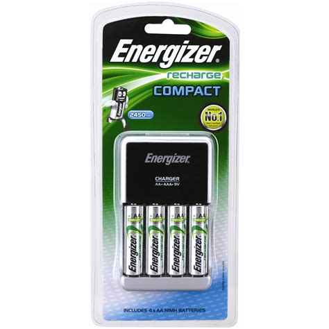 Baterai Charger Energizer energizer compact battery charger i n 4410256 bunnings