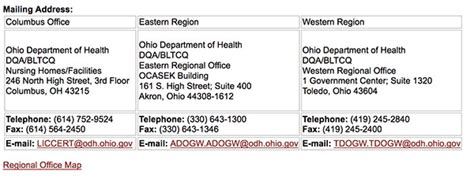 Ohio Nursing Laws For Detox Facility by An Overview Of Ohio S Assisted Living Regulations