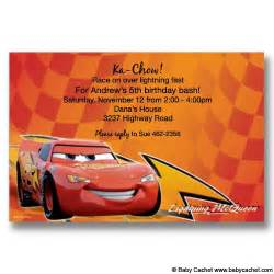 cars lightning mcqueen birthday invitations new for more flickr