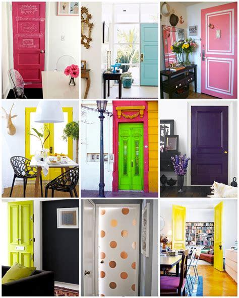 colored interior doors interiors bright doors brightontheday