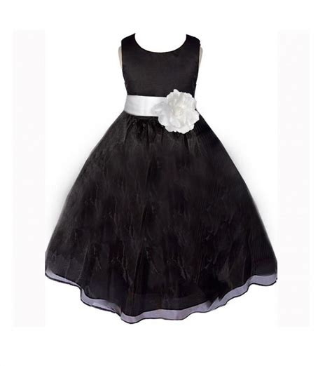 White Flower Dress Size M flower dresses size 10