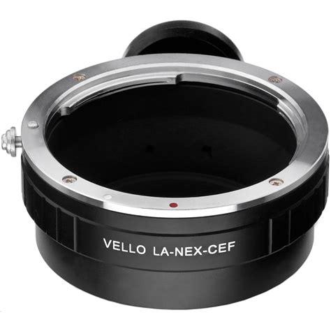 Lensa Converter Canon Vello Canon Ef Ef S Lens To Sony E Mount Lens La Nex Cef