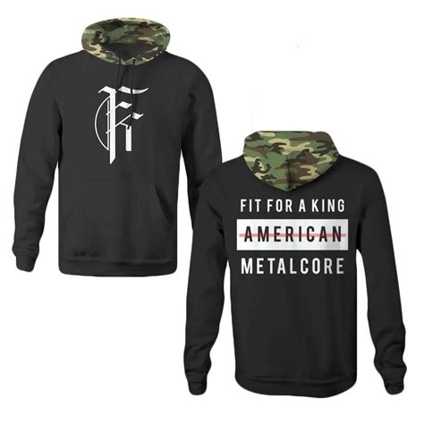 Fit For A Or King by American Metalcore Black Camo Ffak Fit For A King