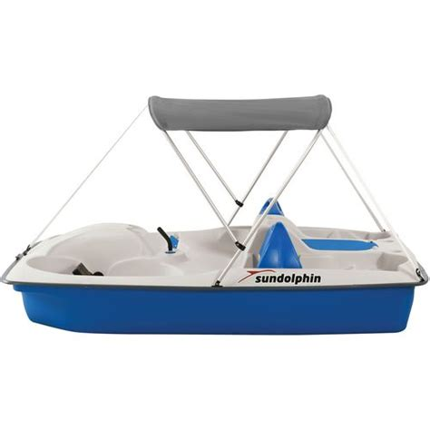 sun slider pedal boat sun dolphin sun slider 96 in pedal boat with canopy academy