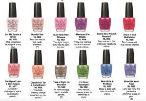 opi colors opi new orleans nail colors the daily details
