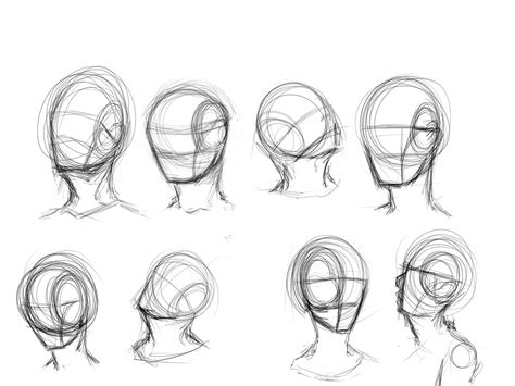 how to draw heads at different angles angles by kiwi in a box on deviantart how to draw