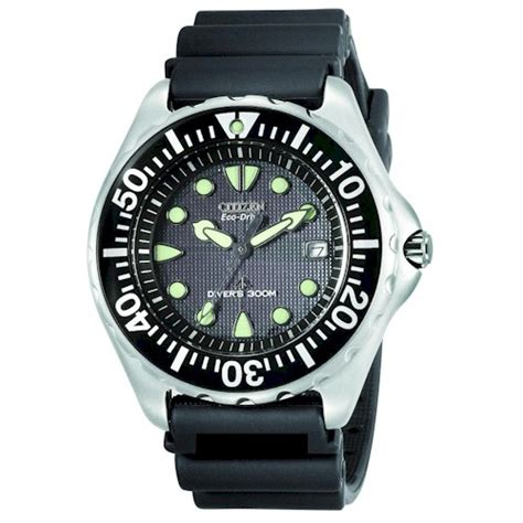 citizen eco drive dive citizen mens eco drive professional diver black rubber