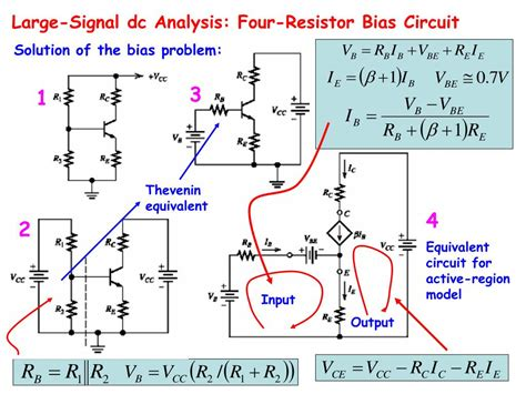 transistor analysis ppt bipolar junction transistor circuit analysis