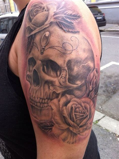 feminine skull tattoos 25 best ideas about feminine skull tattoos on