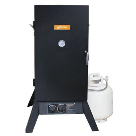 weston 32 in vertical propane gas smoker 410701w the
