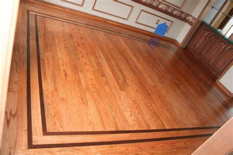 Wood Floor Borders by Ziggy S Wood Floors Exles Of Our Work