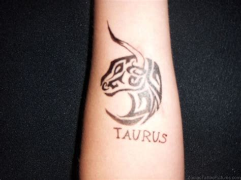 taurus zodiac tattoos 30 best taurus tattoos for wrist