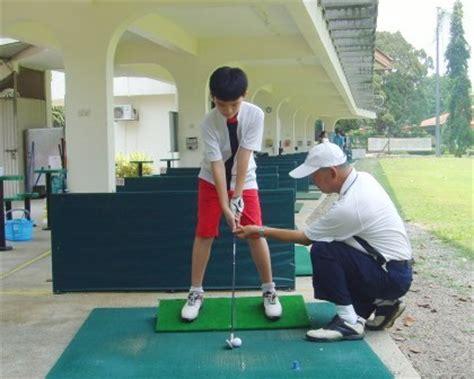 asian golf swing children golf