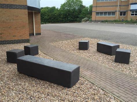 concrete benches uk blyth concrete bench furnitubes international esi