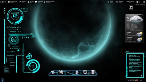 rainmeter themes for windows 8 1 futuristica rainmeter skin by jawzf on deviantart