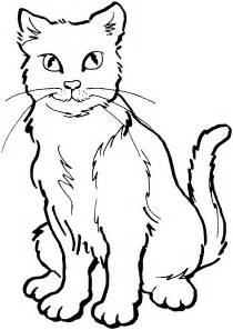 cat coloring free warrior cats ausmalbild coloring pages