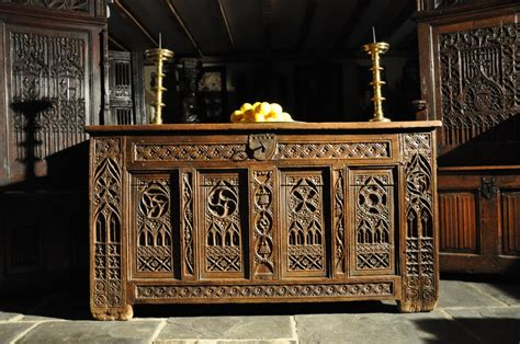 medieval couch about us english antique oak gothic furniture uk