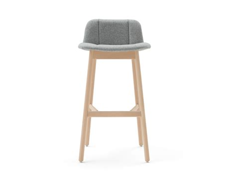 Fabric Upholstered Counter Stools by Hippy Counter Stool By Billiani Design Emilio Nanni