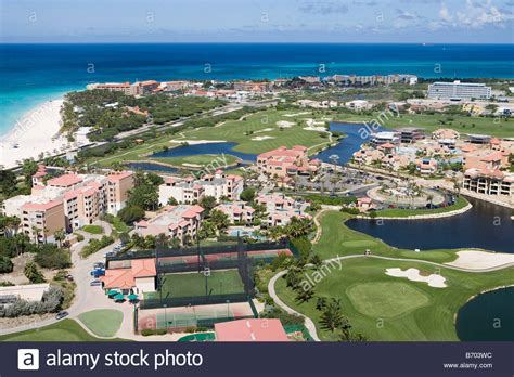 divi golf and resort divi golf and resort aruba caribbean stock