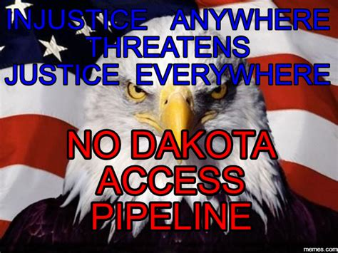 Pipeline Memes - why they stand the dakota pipeline