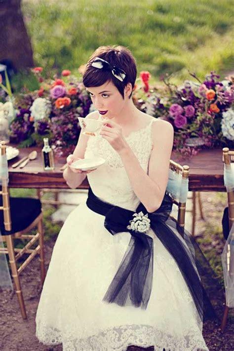 20 bridal short ideas short hairstyles 2016 2017