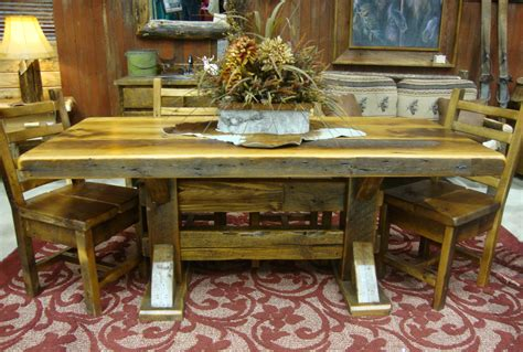 diningroom rustic furniture mall by timber creek manhattan slab dining table rustic furniture mall by