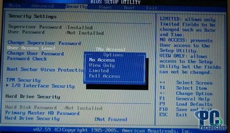 Asus Laptop Bios Access Level asus w5f 12 inch duo notebook review bios security and software