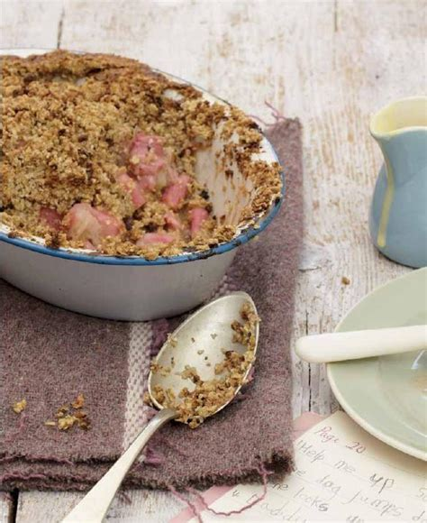 Rhubarb Cheesecake River Cottage by Oaty Rhubarb Crumble River Cottage