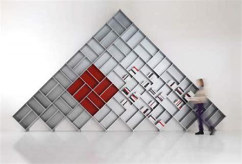 pyramid modular aluminum bookcases