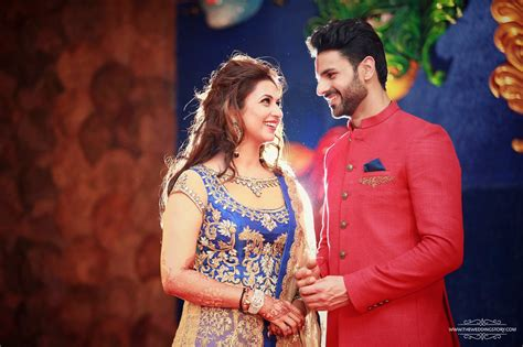 vivek dahiya sherwani check out pics divyanka tripathi and vivek dahiya look so