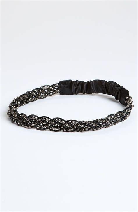 beaded headbands black beaded headband my style