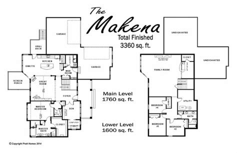 makena floor plan the makena floor plan pratthomes floor plans single family homes floor