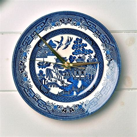 willow pattern wall clock 29 best willow pattern images on pinterest willow