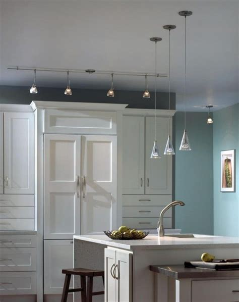 Mini Pendants Lights For Kitchen Island Astonishing Three Mini Pendant Lights Kitchen Island In Sky Blue Kitchen Decoration