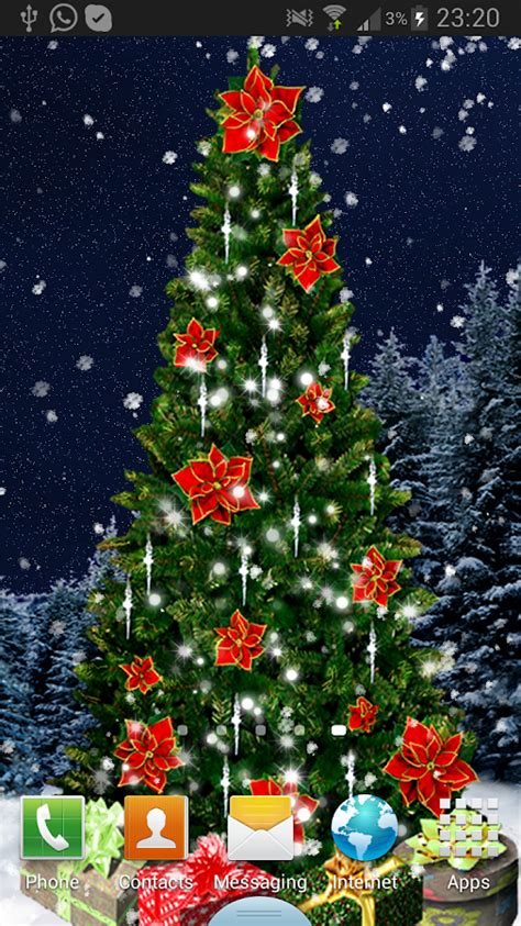 google images xmas tree christmas tree live wallpaper android apps auf google play