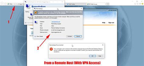 connect to remote desktop web access connection error petenetlive