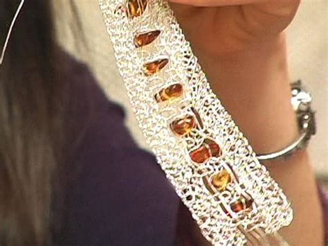 Crochet Macrame - crocheted macrame bracelet hgtv