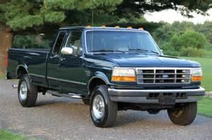 1996 Ford F250 Diesel Sell Used 1996 Ford F250 Xcab Xlt 7 3l Diesel 98k Original