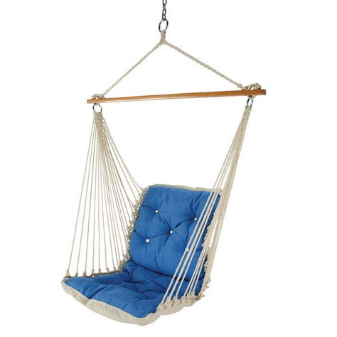 One Person Hammock Chair Tufted Single Person Swinging Hammock From Brookstone