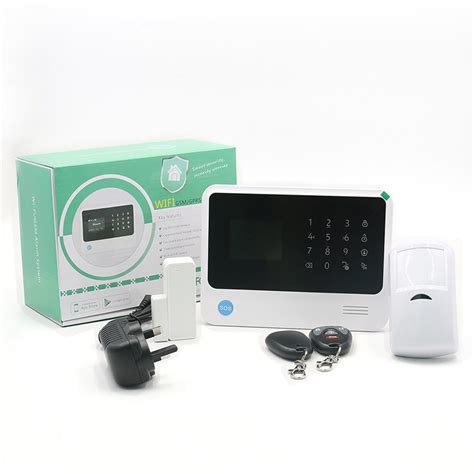 new experience gsm wifi home security alarm system