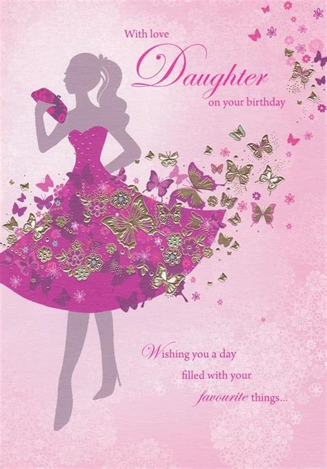printable happy birthday daughter cards 10 best ideas about happy birthday daughter on pinterest
