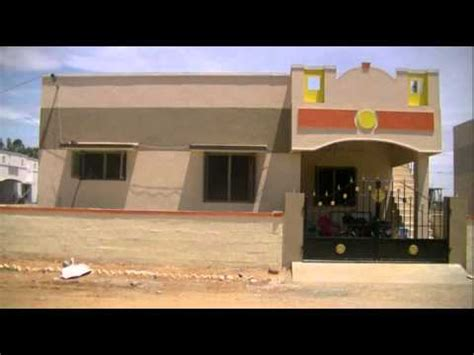 House Designs In India Small House by 15 Lakhs Individual Houses In Trichy Youtube