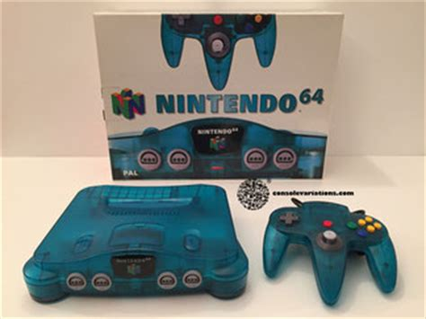 console colors nintendo 64 console variations the database for all