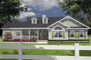 home plans with porches great cozy cottage with wrap around porch house plan 26206